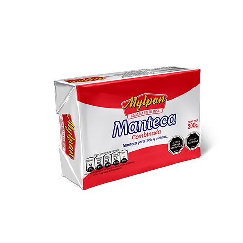 Manteca Combinada Mylpan Caja 10 unidades de 200 gr.