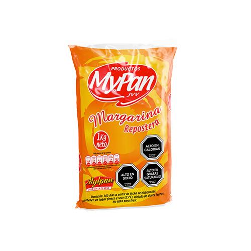 Margarina Repostera MypanCaja 20 unidades de 1 Kg.