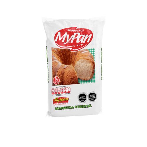 Manteca Vegetal MypanCaja 20 unidades de 1 Kg.
